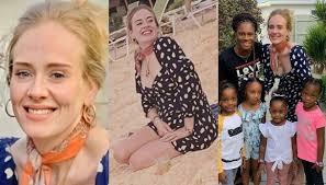 Adele dimagrita 30 kg: le foto in spiaggia mostrano l'incredibile  trasformazione