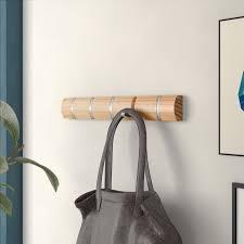 Symple Stuff Concealed Coat Hooks Wall Mounted Coat Rack Reviews Wayfair Co Uk