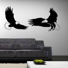 Flying Eagles Wall Decal Cutzz