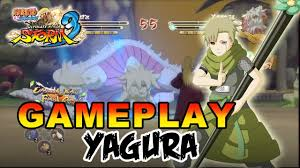Naruto Shippuden Ultimate Ninja Storm 3 - X360 / PS3 - Yagura Gameplay -  YouTube