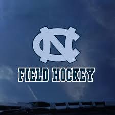 Johnny T Shirt North Carolina Tar Heels Field Hockey Outside Application Window Decal By Cdi
