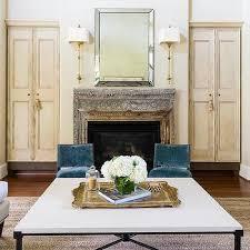antique wood ornate fireplace mantel