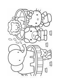 Praatplaat Dierentuin Voor Kleuters Educatie Dieren Kleurplaten