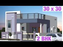 30 x 30 9m x 9m house design plan