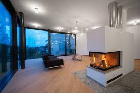 9 examples of freestanding fireplaces