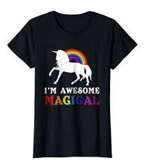 unicorn tshirts for women birthday gift