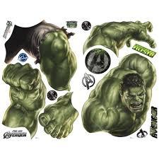 Dreamfurniture Com Avengers Hulk Peel Stick Giant Wall Decal