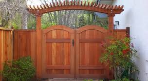 Custom Wood Gates Sierra Lumber Fence
