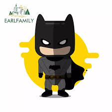 Earlfamily 13cm X 13cm Car Stickers And Decals For Batman Graphics Cartoon Laptop Wall Decal Waterproof Fine Decal Car Wrap Car Stickers Aliexpress