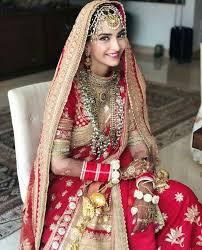 sonam kapoor wedding makeup look a