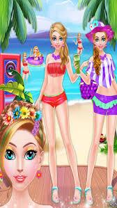 crazy beach party seaside makeup