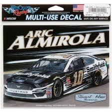 Aric Almirola Wincraft 4 5 X 6 Multi Use Car Decal Walmart Com Walmart Com