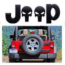 3d Letter Emblem Punisher Skull Sticker Car Body Rear Badge Decal For Xotic Tech