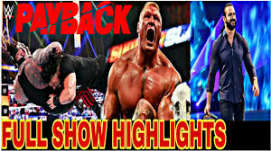 WWE Payback 2020 Highlights [HD] - WWE ...