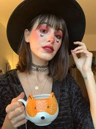 witch makeup look mademoiselle o lantern