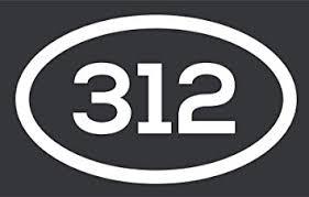 Amazon Com 312 Area Code Sticker Illinois Chicago City Pride Love Vinyl Decal Sticker Car Waterproof Car Decal Bumper Sticker 5 Automotive