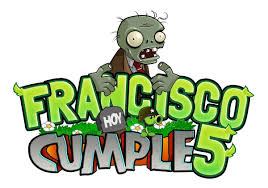 Invitaciones Tarjetas De Cumpleanos Plants Vs Zombies 506 00