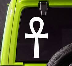 Ankh Car Decal Egyptian Truck Or Bumper Sticker Wish