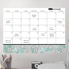 Ebern Designs Coloring Calendar Whiteboard Chalkboard Wall Decal Wayfair