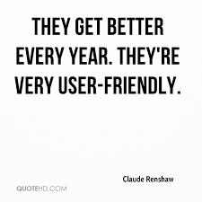 claude renshaw quotes quotehd