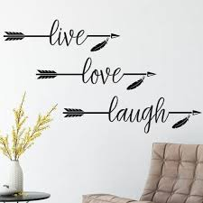 Shop Live Love Laugh Vinyl Wall Decal Overstock 20247834