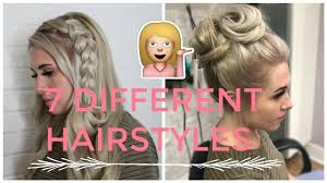 7 hairstyle ideas wearing your hair up