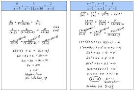 solving rational equations with