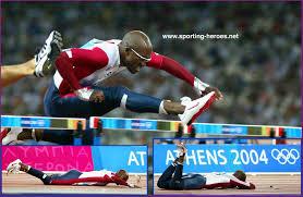 Allen JOHNSON - 2004 Olympic Games crash. - U.S.A.