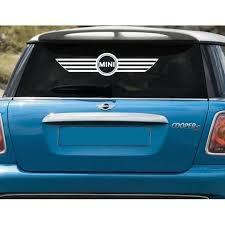 Mini Cooper Rear Window Windshield Banner Decal Sticker Stickersquad