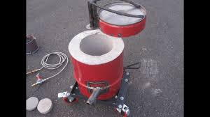 propane foundry furnace metal aluminium