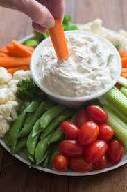 easy vegetable dip recipe tastes