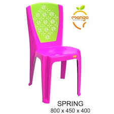 spring plastic garden chair