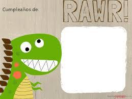 Letrero Para Comida O Mas En Una Fiesta De Dinosaurio Haciendo Mi