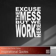 jual sticker dinding work motivasi quotes stiker cutting quote