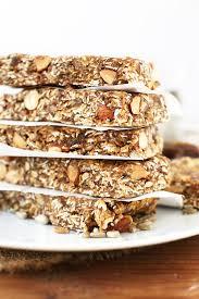 super seedy granola bars minimalist