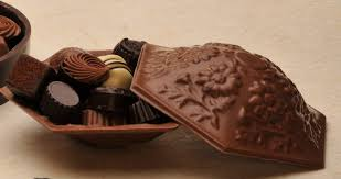 chocolate candy dish belgian