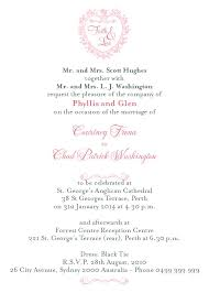 wedding invitation wording wedding