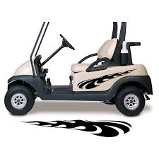 Golf Cart Decals Accessories Side By Side Racing Stickers Graphics Gc515 Walmart Com Walmart Com