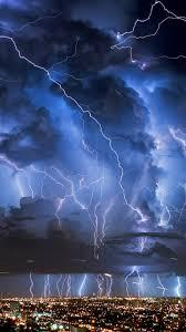 iphone wallpaper thunder lightning