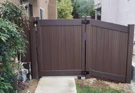 Shurlock Fence Gallery Vinyl Fences Gates Escondido Ca Fencing Company