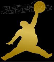 Air Pun Fat Air Jordan Decal Sticker Decalmonster Com