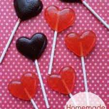 homemade lollipops for valentine s day