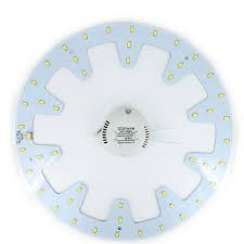 DIY LED 24 W Vòng BẢNG Vòng Tròn Ánh Sáng ĐÈN LED Ốp Trần ban tròn đèn ban  SMD 5730 48 Đèn Led + Công suất lái xe AC 180-265 V - a.foodspots.me