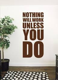 Motivational Wall Decal Gym Wall Decal Large Inspirational Etsy Gym Wall Decal Sports Quotes Inspirational Wall Art