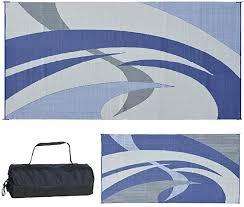 reversible mats 159183 blue grey 9 feet