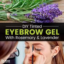 eyebrow gel diy recipe with rosemary