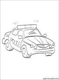 Politieauto Kleurplaat Gratis Kleurplaten