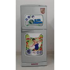 Tủ lạnh Sanyo 123l đã qua sử dụng.