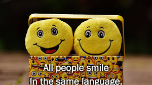 best english smile quotes status images