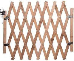 Lembrd Pet Gate Wooden Picket Fence Garden Panels Wooden Dog Folding Gate Expanding Panel Fold Able Indoor Outdoor Free Standing Safety Gate Portable Separation Pet Safety Barrier Guard Amazon Co Uk Kitchen Home
